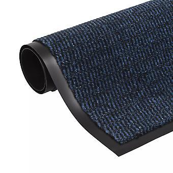 vidaXL Dirt trap matto Suorakaiteen muotoinen tuftattu 120 x 180 cm sininen