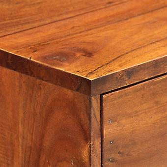 vidaXL console 100×35×76 cm bois massif acacia