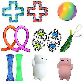 Style2 anti anxiety fidget packsensory toys set for kids teens adults autism x795
