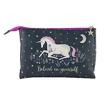 Sass & Belle Starlight Unicorn Wash Bag