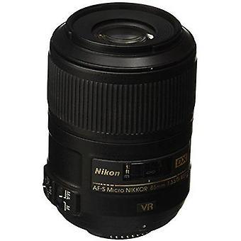 Nikon af-s dx micro nikkor 85mm f/3.5g ed vibration reduction fixed zoom lens...