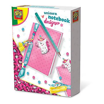 SES Creative Children's Unicorn Notebook Designer Activity Set
