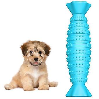Dog Chew Toys,dog Toothbrush Teeth Cleaning Toys , Dental Oral Care For Pet(Blue)
