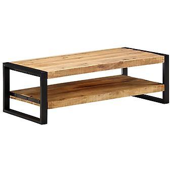 vidaXL table basse 120 x 60 x 40 cm massif bois de mango