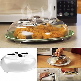 Kitchen Microwave Splash Cover Anti-sputtering Microwave Hovering Cover
