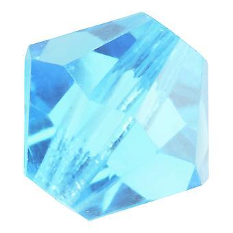 Preciosa التشيكية كريستال، بيكون حبة 4mm، 36 قطعة، الأزرق الفاتح