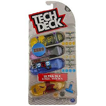Tech Deck Ultra DLX 4 pack Zero