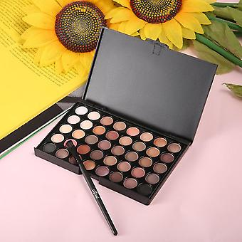 New 40 Colors Set Facial Cosmetic Makeup Eyeshadow Palette With Brushes