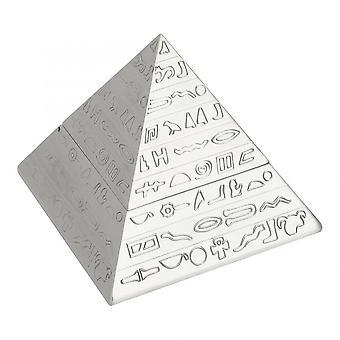 Metalen asbak Egyptisch gesneden met deksel asbak home office decoratie