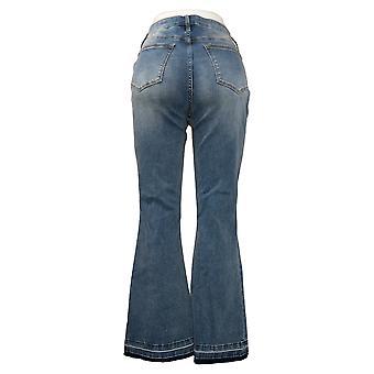 Colleen Lopez Dames Jeans Lake Calhoun Released-Hem Flare Blue 695851