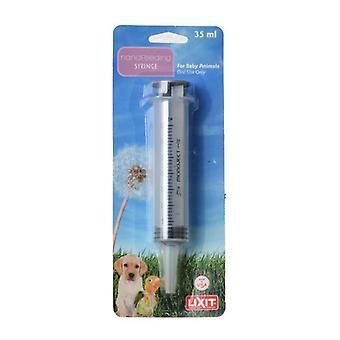 Lixit Hand Feeding Syringe for Baby Animals - 35 ml Hand Feeding Syringe