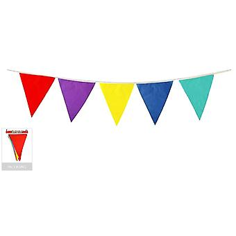 9M bunting flag colourful triangle party banner birthday wedding flags outdoor