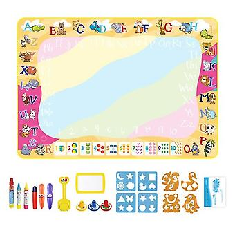 Painting Board Coolplay Magic Water Drawing Mat Coloring Doodle Mat With Magic Pens Montessori Toys