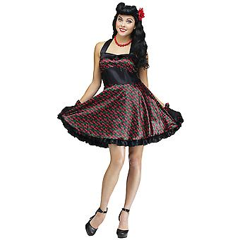 Cherry Bomb Vintage Pin Up 50s Retro Rockabilly Women Costume