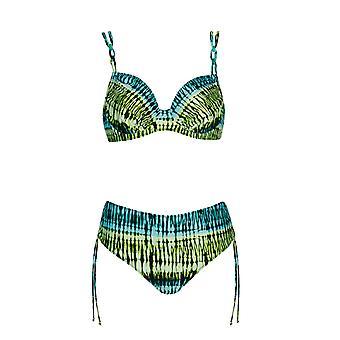 Opera 61621-23 Women's Turquoise Underwired Bikini Set