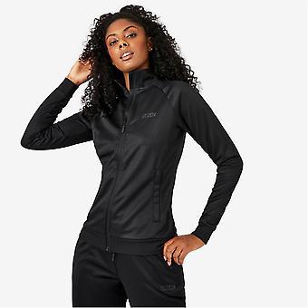 Everlast Womens Essential Track Top Activewear Jacket Full Zip Sports Training