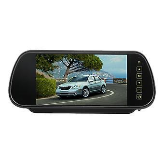 7'' Lcd Auto Rear View Backup Parkovisko Blue Mirror Monitor + Kamera Nočné videnie