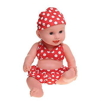 Mimigo 40cm Reborn Baby Mädchen / Junge Puppe Entzückendewiedergeborene Kleinkinder Puppen Realistische Silikon Vinyl Ganzkörper Neugeborene Babys Real Looks Babys Wiedergeborene Puppe Be