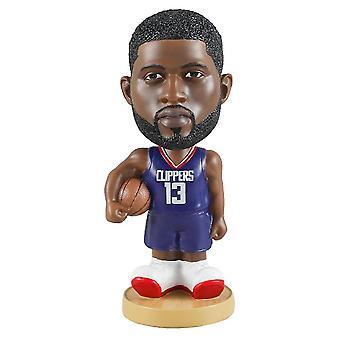 Figurine d'action Statue Bobblehead Basketball Doll Décoration