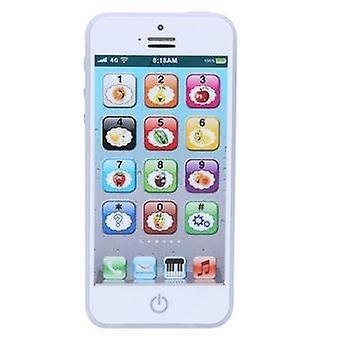 Jouet éducatif pour téléphone analogique pour enfants Blanc