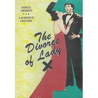 Divorce of Lady X [DVD] USA import