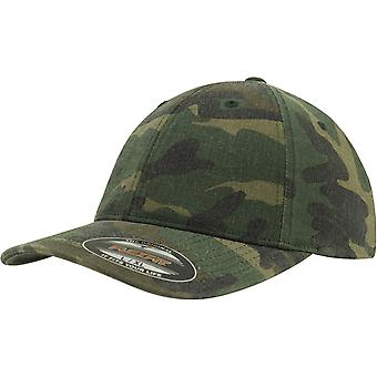 Flexfit garment washed Cap - wood camo