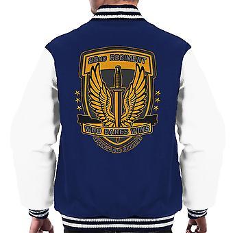 22nd Regiment Insignia COD 4 Modern Warfare Men's Varsity Jacket