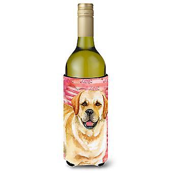 Golden Retriever amore bottiglia di vino Beverge isolante Hugger