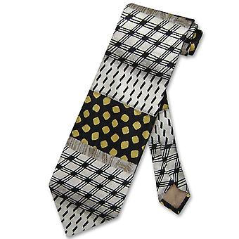 Antonio Ricci SILK NeckTie Made in ITALY Geometric Design Men's Neck Tie #5728-1