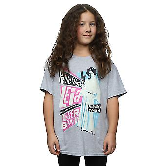 Star Wars meisjes Prinses Leia Rock Poster T-Shirt