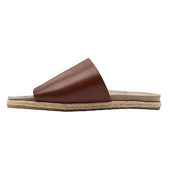Joules Joules lointain en cuir moulé Sandal Womens Slide (Y)