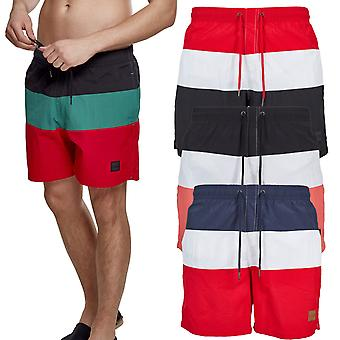 Urban classics - BLOCK swim swim shorts swimwear