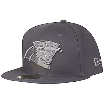 New Era 59Fifty Cap - GRAPHITE Carolina Panthers