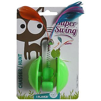 Agrobiothers Knock Over Feather Cat Toy (Cats , Toys , Plush & Feather Toys)