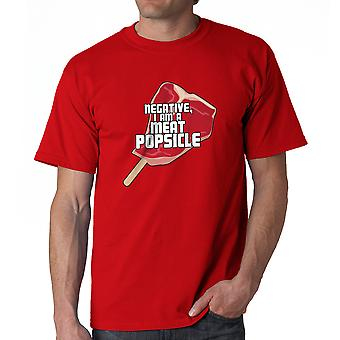 Le cinquième élément viande Popsicle rouge T-shirt homme