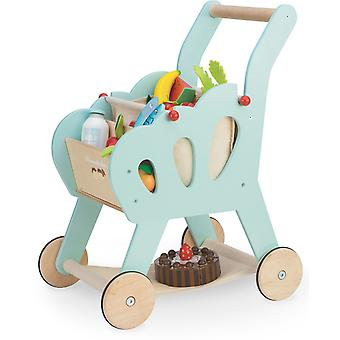Le Toy Van Honeybake Shopping Trolley with Bag