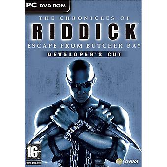 The Chronicles of Riddick Escape from Butcher Bay (PC) - Neu