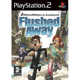 Flushed Away (PS2) - New Factory Sealed