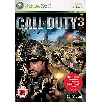 Call of Duty 3 (Xbox 360)-in de fabriek verzegeld