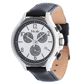 Misaki Mens watch montre-bracelet QCRWBETA-L bracelet noir