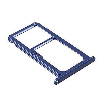 För Huawei P10 Lite SIM-kort grimma SIM-facket SIM kortshållaren SIM blå ny