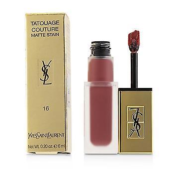Yves Saint Laurent Tatouage Couture Matte plet - # 16 nøgen Emblem - 6ml/0,2 ounce