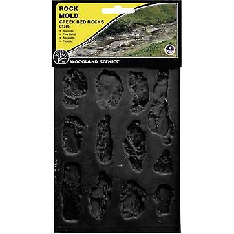 Woodland Scenics WC1246 Universal Rubber mould River bed