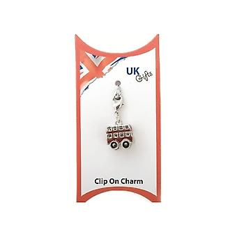 Union Jack Wear Clip On Bus Charm