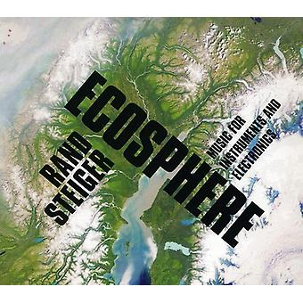 Rand Steiger - Ecosphere: Music for Instruments & Electronics [CD] USA import