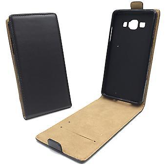 Mobiele telefoon geval zakje voor mobiele Samsung Galaxy A3 zwart