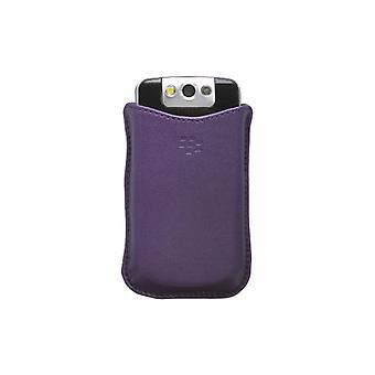 Blackberry-סינתטיים נרתיק כיס עבור Blackberry 8220-סגול