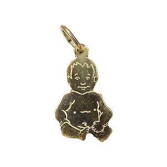 Yellow Gold baby pendant