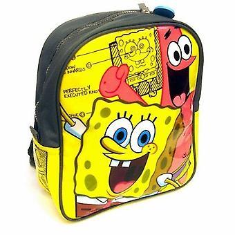 Escola de Mini Bob Esponja mochila amarelo