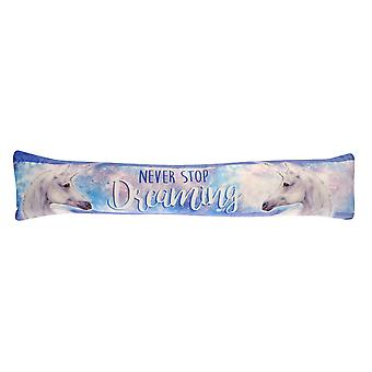 Country Club Fun Draught Excluder, Never Stop Dreaming